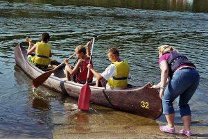 Kanutour zum Plauer See