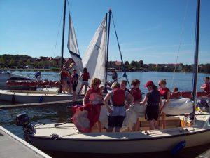 Die Seen in Mecklenburg sind ein beliebtes Segelrevier