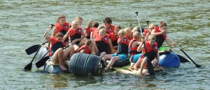 Teamprogramm: Floßbau