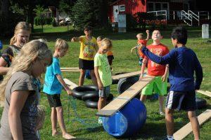 Teamprogramm : Floßbau