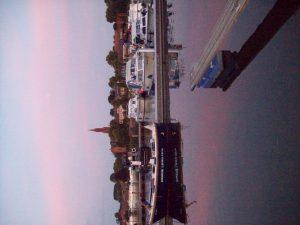 Sommerabend am Malchower Stadthafen