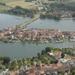 Inselstadt Malchow von oben