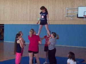 Trainingslager Cheerleading